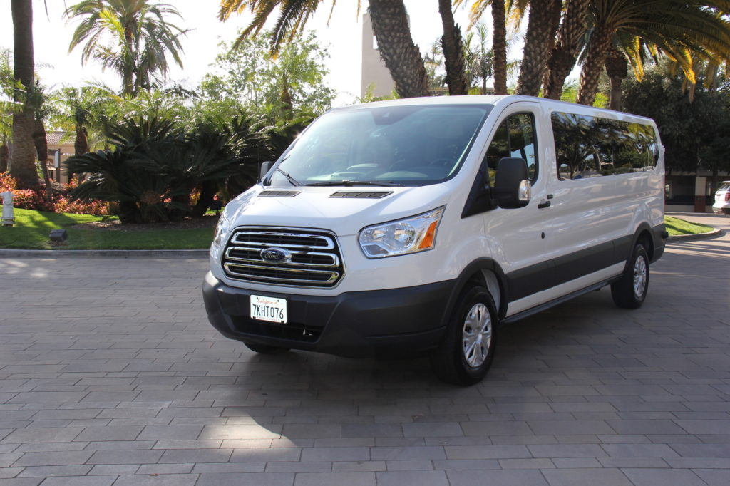 12 Passenger Van Rental Orange County