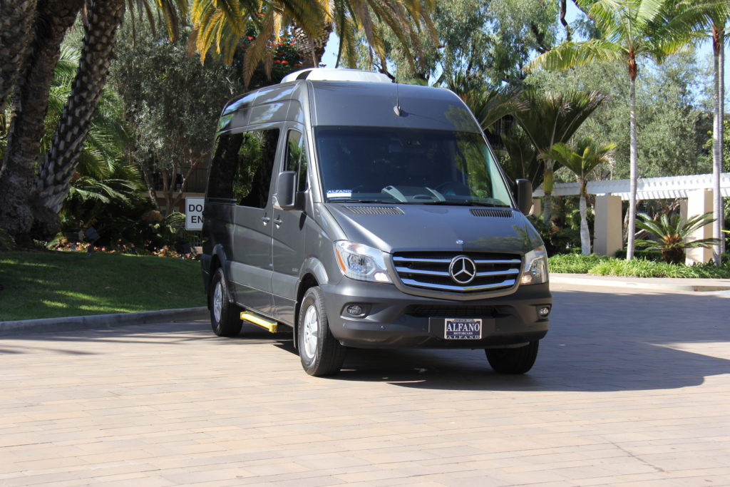 sprinter bus benz mercedes rental limo luxury van
