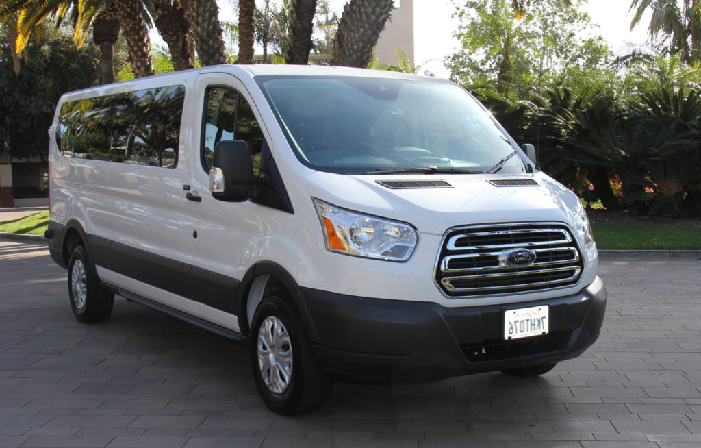 15 passenger ford transit low roof orange county van rental. Black Bedroom Furniture Sets. Home Design Ideas